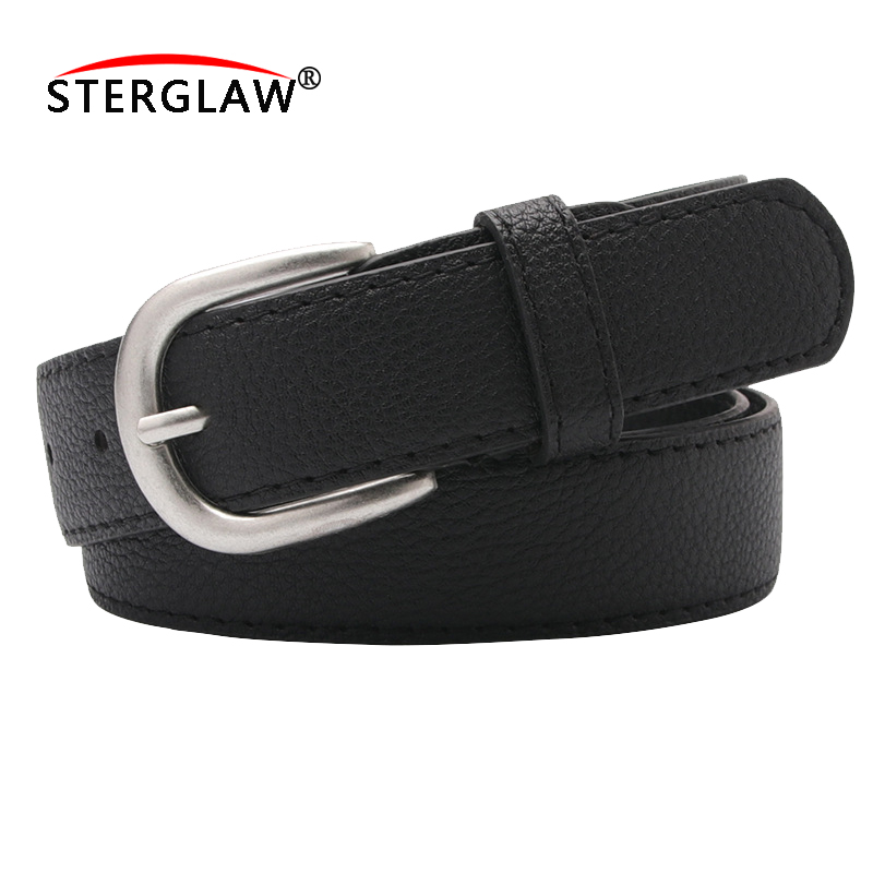 110*2.8cm men's leather   belt     belts   for women PU waistband for womens female   belt   Unisex cinto masculino cinturon A124