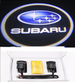 Hot  Car Door Lights For Subaru Logo led Ghost Shadow Welcome Light Auto LOGO Laser Projector Lights LED 12V  Free Shipping