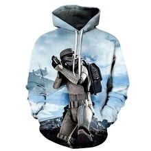 0fdc531d1 2019 nowych moda 3d bluzy oryginalny styl mężczyzna kobiet swetry Hot movie  Star Wars drukuj bluza z kapturem