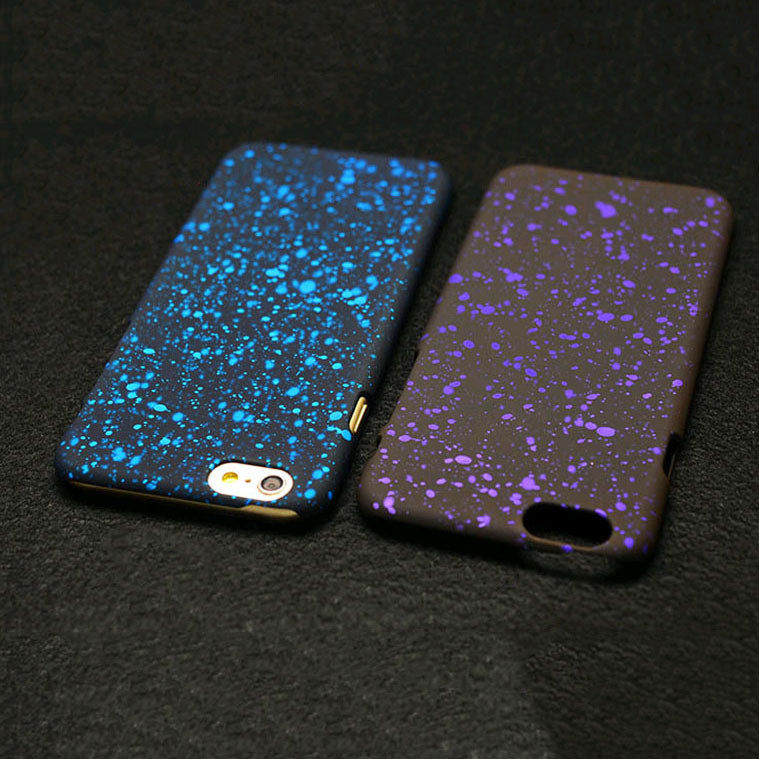 New 3D Cover Three-dimensional Stars Ultrathin Frosted Starry Sky Phone Case for iPhone 5 5s SE 6 6S 7 8 Plus X Hard PC Cases