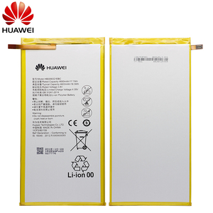 Image 2 - Hua Wei Original Tablet Batterie HB3080G1EBC/HB3080G1EBW für Huawei Mediapad M1 8,0 T1 821W/823l M2 803L Ehre S8 701W 4800 mAh