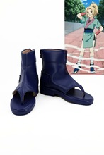 NARUTO cosplay shoes boots for adult women men halloween carnival