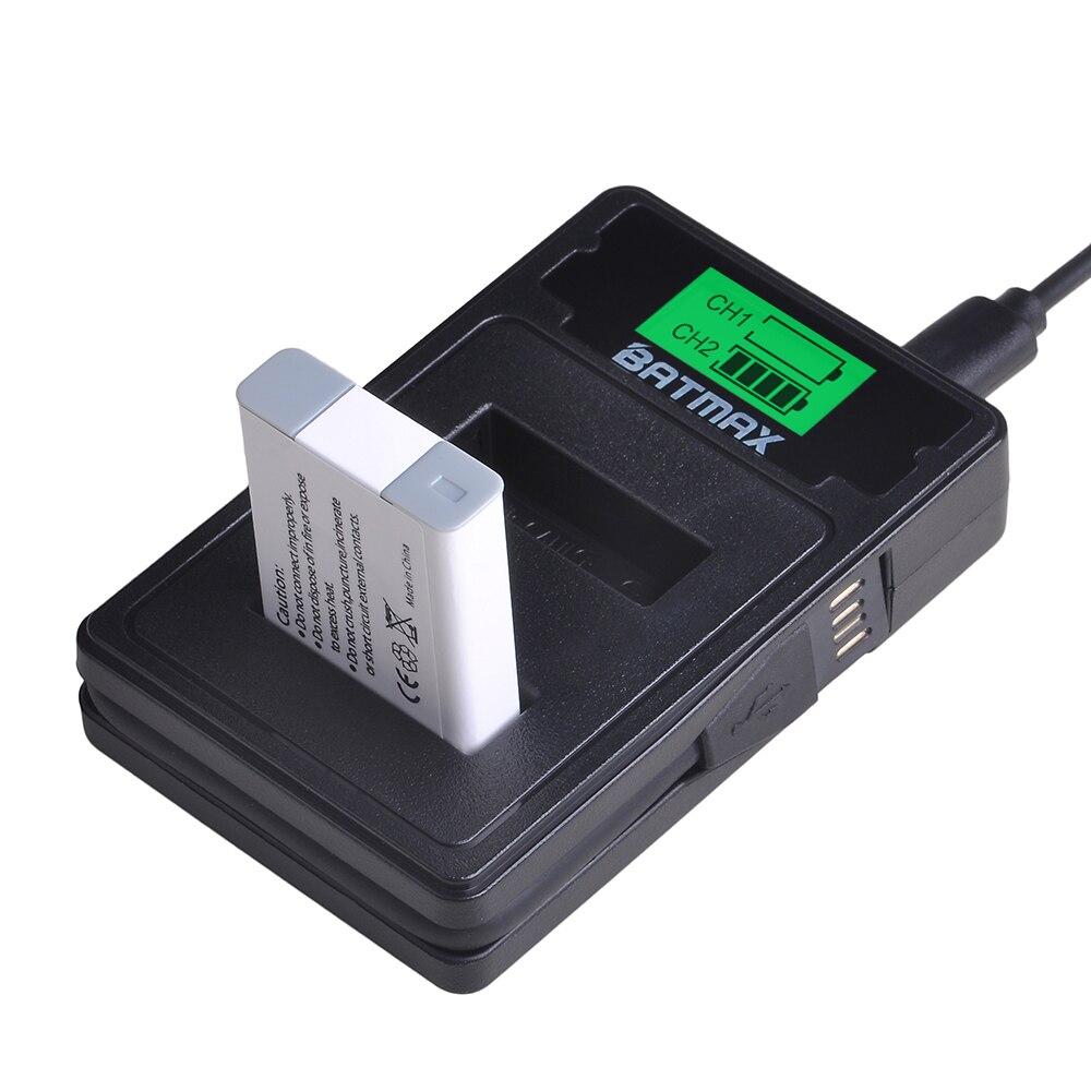 Image 5 - 2 Pcs NB 13L NB13L 13L NB Bateria   USB Carregador de LCD com o  Tipo C para Canon G5X G7X G9X G7 X Mark II Mark II SX620 G9X SX720 HS  HSBaterias digitais