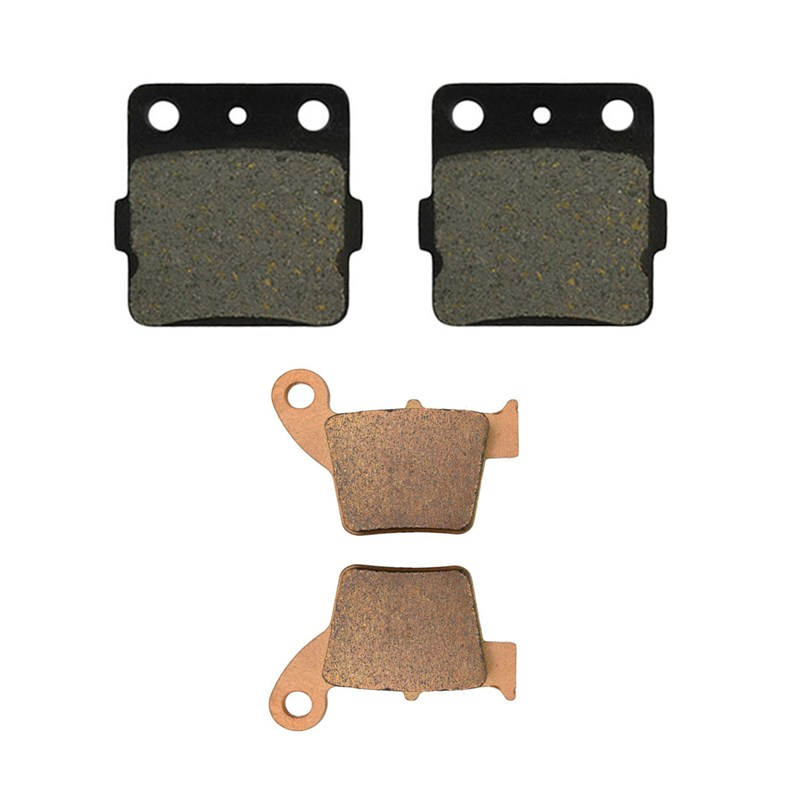 Motorcycle Front and Rear Brake Pads for HONDA CRF150R CRF150RB CRF 150 R / RB 2007-2014 motorcycle front and rear brake pads for honda vt250fl spada castel1988 1990
