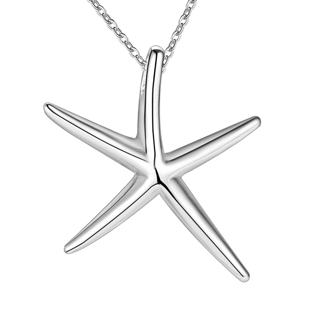 14K Yellow Gold Starfish Pendant from Roy Rose Jewelry