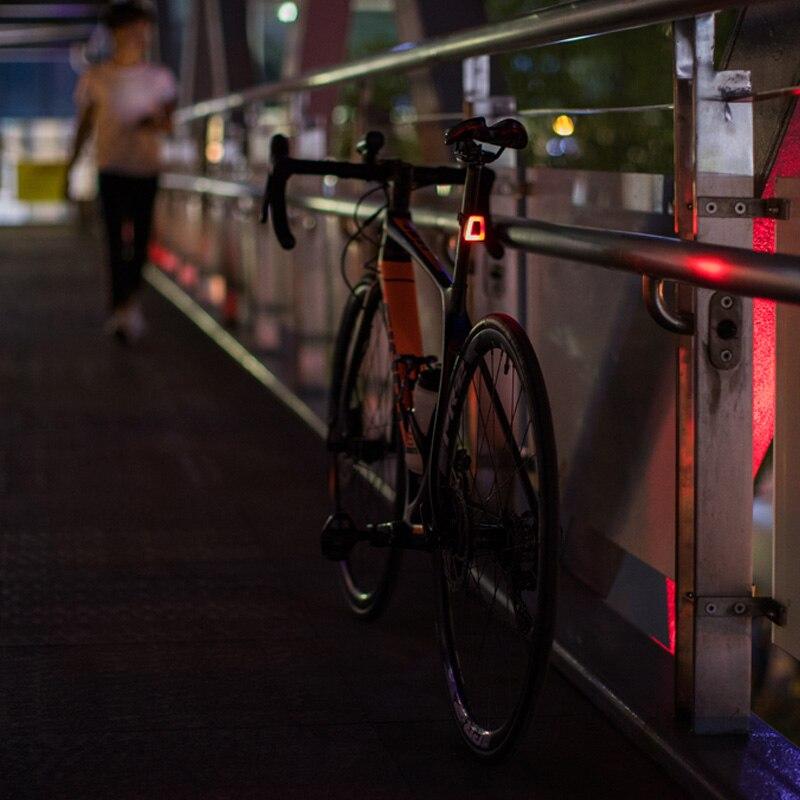 ROCKBROS Radfahren Fahrrad Licht Wasserdichte Helm Rücklicht Laterne Fahrrad LED USB Aufladbare Sicherheit Nacht Reiten Bike Hinten Licht