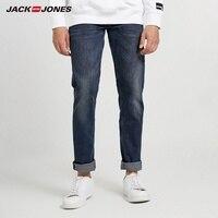 JackJones Men's Stretch Cotton Casual Jeans Men's Fashion Jeans Business Casual Stretch Slim Jeans J 218332562