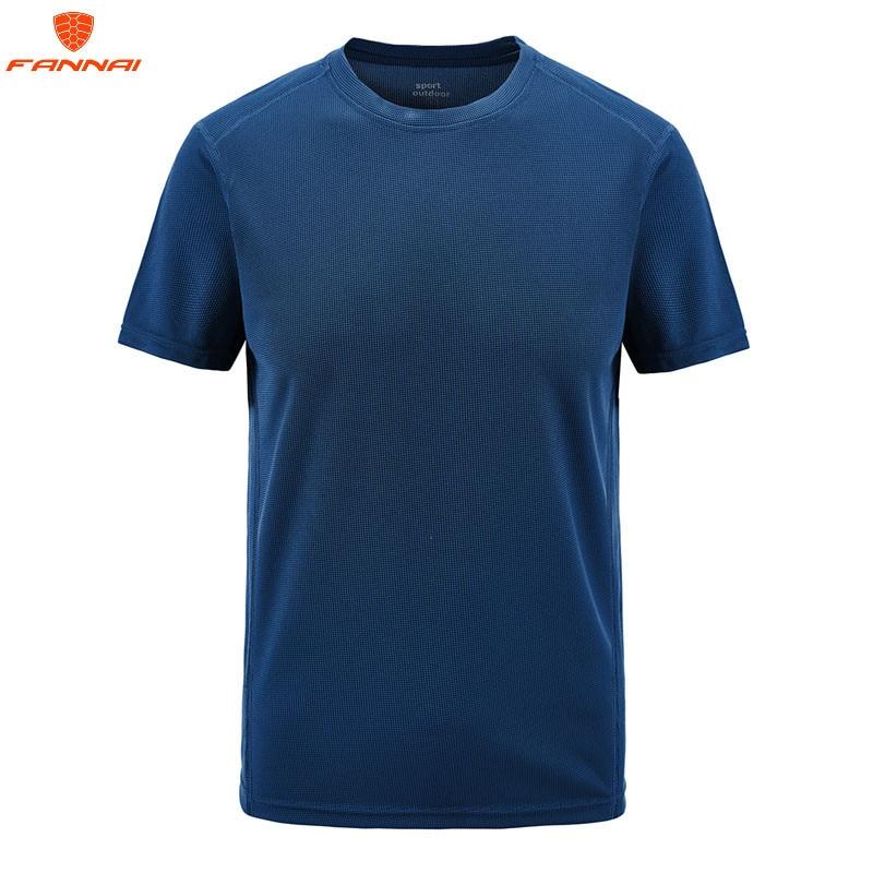 Футболка мужская быстросохнущая, брендовая тенниска с коротким рукавом и круглым вырезом, повседневная майка, размеры 6XL 7XL 8XL, лето