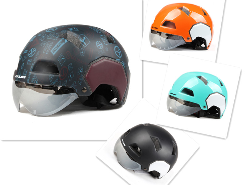 1 pcs Motorcycle Helmet With Lens 55-61cm M/L Fashion Style Half-covered Bike Helmet Solid Safety Equipments Sports Accessories equipments for solid waste processing page 1