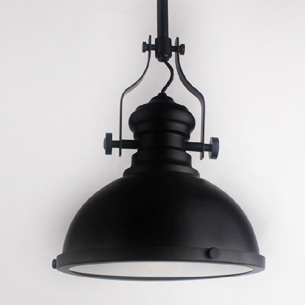 loft america country industrial black pendant light bar cafe droplight e27 decorative fixture lighting brief style black pendant lighting