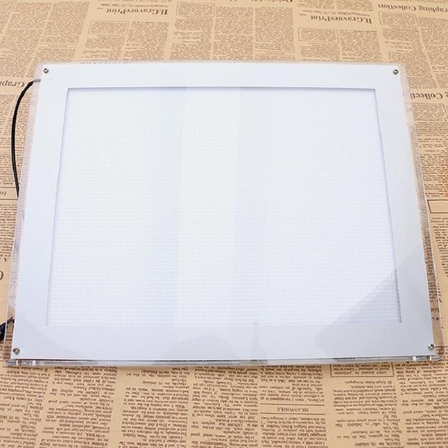 Pro A4 TATTOO Stencil Ultra Thin LED Stencil Table Pad Board Tracing Light Box Table touch board 8mm Tattoo Supply