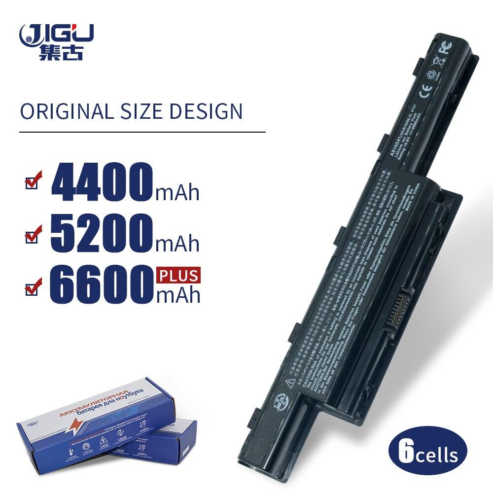 JIGU Laptop batarya için Acer Aspire V3 5741 5742 5750 5551G 5560G 5741G 5750G AS10D31 AS10D51 AS10D61 AS10D71 AS10D75 AS10D81