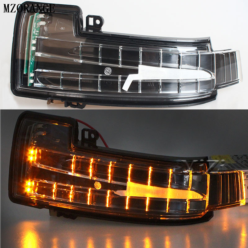 MZORANGE 1/2 pcs car rearview Mirror turn signal light Side Mirror led lamp for Mercedes Benz W164 GL350 GL450 GL550 ML300 ML350 brand new air suspension spring for mercedes benz w164 x164 gl320 gl350 gl450 gl550 airmatic 1643204513 1643204613 1643206013