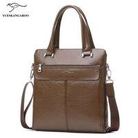 New Arrived Kangaroo Brand Men Bag Fashion Men Messenger Bag Business Bag Travel Briefcases Totes 2017