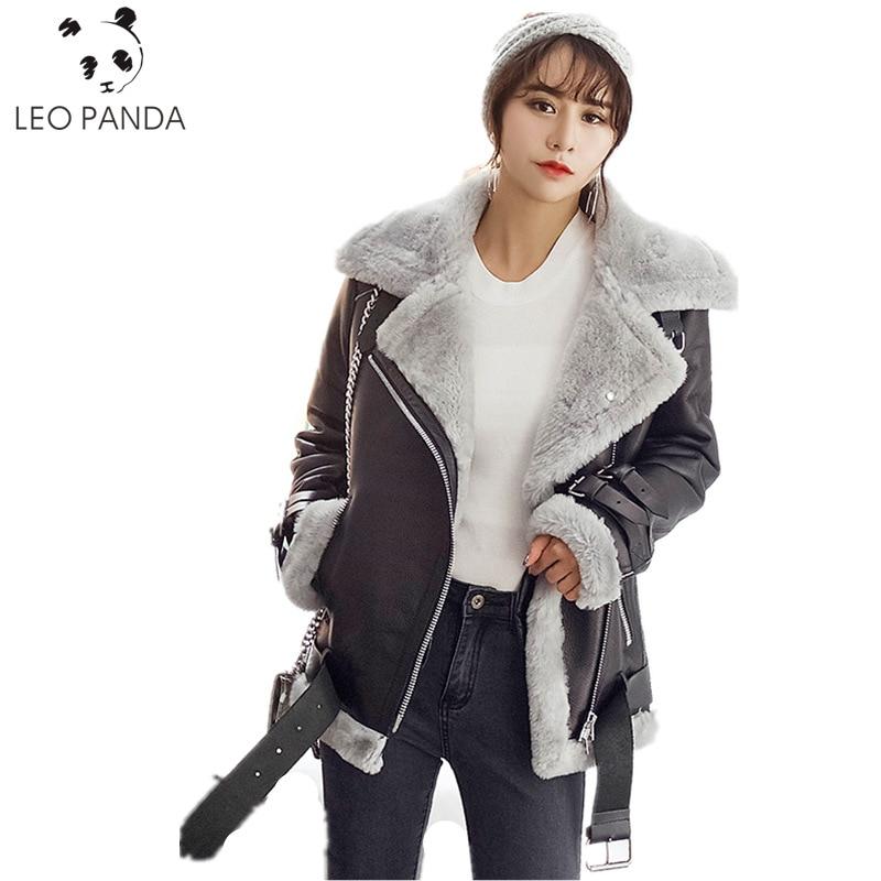 2019 Women Winter Superior Quality Genuine Leather Jacket Natural Merino Sheep Fur Jacket Sheepskin Coat Real Leather Jacket