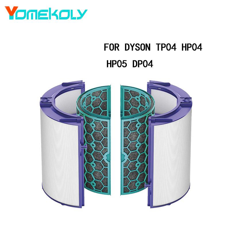 for Dyson Air Purifier HEPA Filter Cartridge Activated Carbon TP04 HP04 HP05 DP04 inside and outside filter accessoriesfor Dyson Air Purifier HEPA Filter Cartridge Activated Carbon TP04 HP04 HP05 DP04 inside and outside filter accessories