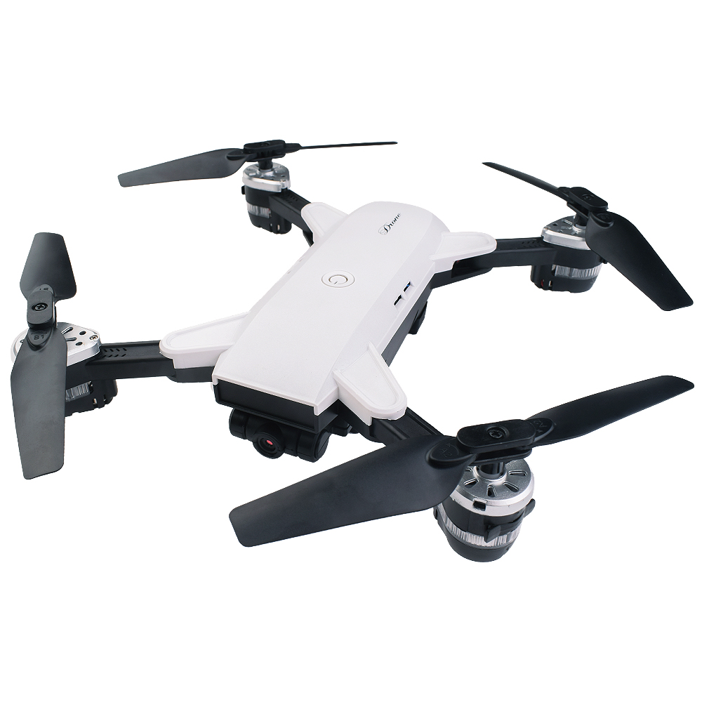 Nueva plegable selfie drone con WiFi FPV Cámara RC drone 6 ejes RC helicóptero en tiempo real quadcopter vs XS809