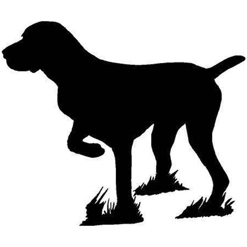 15,2*12,7 см Указатель Собака Охота немецкие короткие волосы животное автомобиль наклейка Указатель Собака Охота немецкие короткие волосы Животные наклейки C6-1179