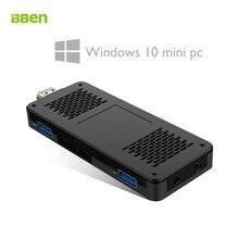 Bben MN10 Мини-ПК stick Окна 10 DDR3L 3 ГБ Оперативная память 64 г Встроенная память EMMC Intel Apollo Lake Celeron N3350 двойной -Band Wi-Fi BT4.0 мини-компьютер