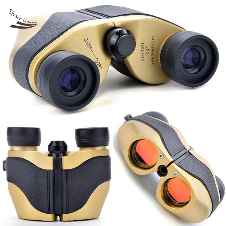 Hot font b binoculars b font Mini Day Night Telescope 80 x 120 5m 10000M Zoom