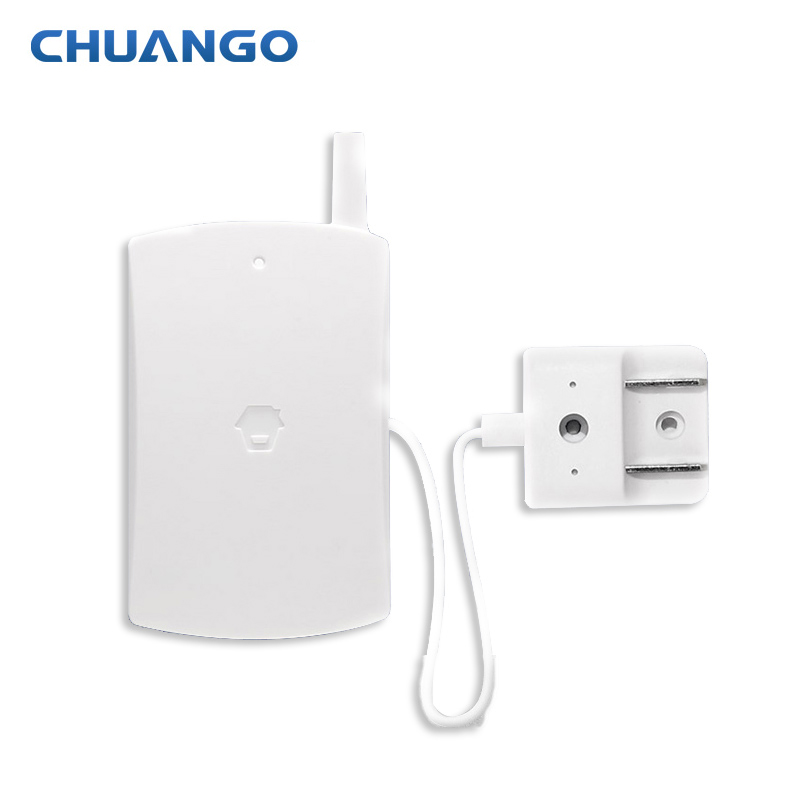 315MHZ water leakage sensor wireless water flooding sensor for Chuango Home security alarm systems free shipping wireless sms water leak alarm water flooding sensor of gsm smart home alarm security system for android wl 100