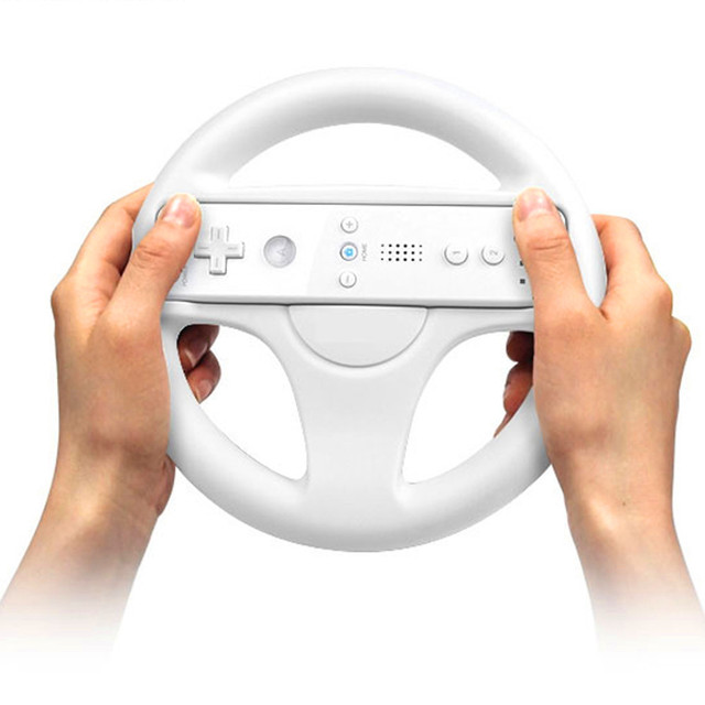 2014 new game steering wheel mario kart racing games remote