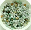 New  Wholesale 10pcs Chinese 100% Natural Jade/Jadeite Lucky Drop Loose Beads