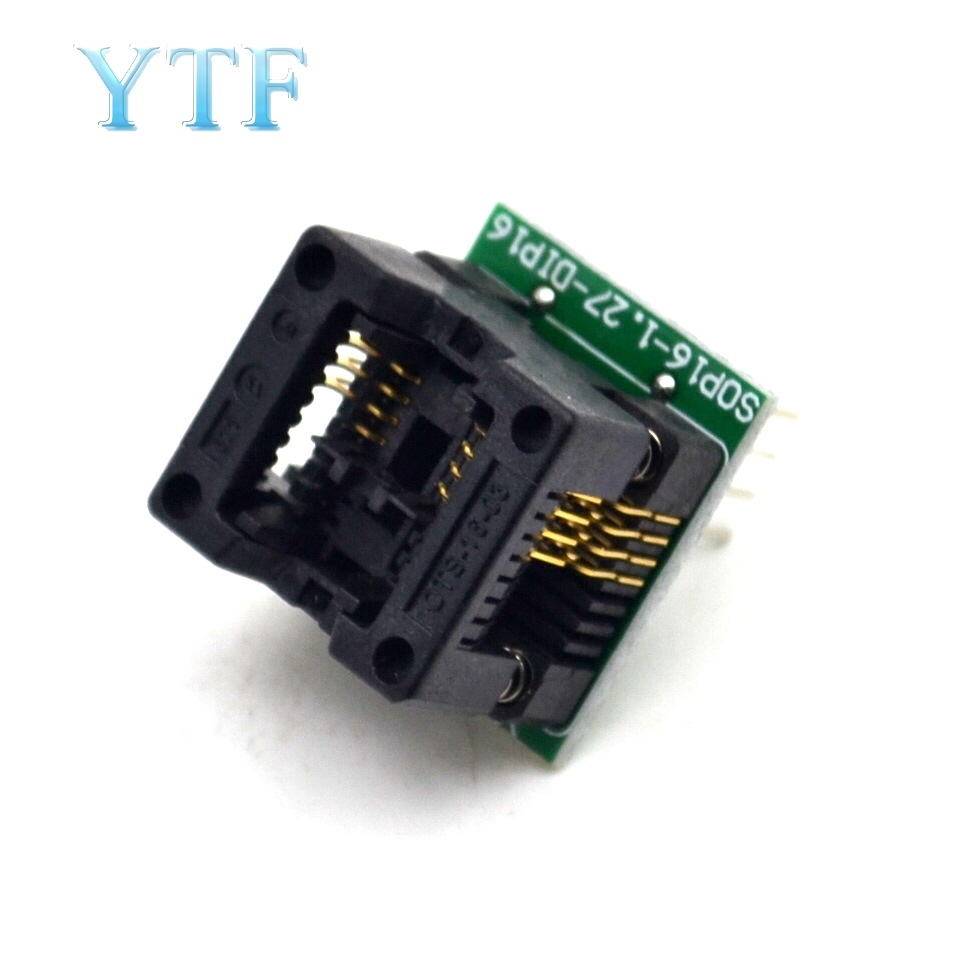 150Mile 200 Mile SO8 SOP8 To DIP8 EZ Programmer Adapter Socket Converter Module For Wide