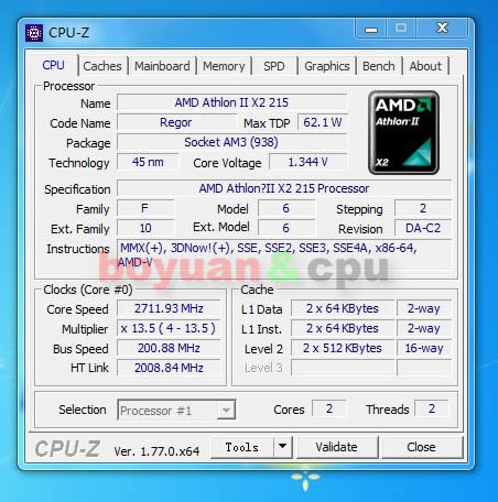 AMD ATHLON TM II X2 215 PROCESSOR WINDOWS 7 64BIT DRIVER DOWNLOAD