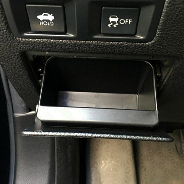 בקרה מרכזית תא הכפפות קופסא אחסון תיבת נתיכים מכונית חדש לסובארו XV פורסטר 2013-2016 אאוטבק 2010-2016 אביזרי Legacy