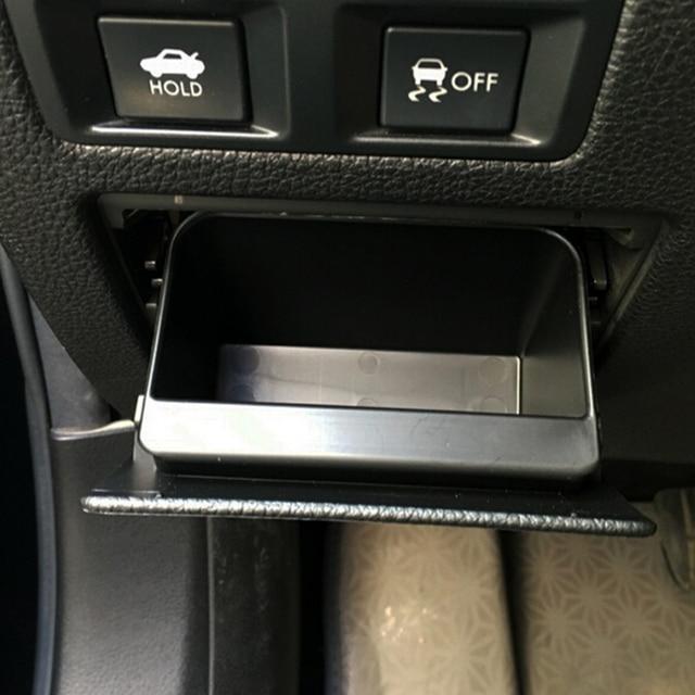 New Car Fuse box Central control storage box glove box For Subaru XV