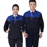 High Quality 10 colors Unisex Engineering Uniform Work Clothes long Sleeve Repairment Workshop Uniform Jacket with Pants