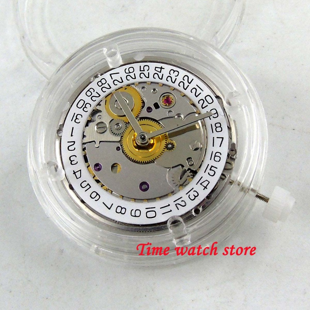 28800bph Clone ETA 2824-2 Movement ST Mechanical Automatic Movement Date Display Fit For SUB Men's Watch Parnis Watch M21