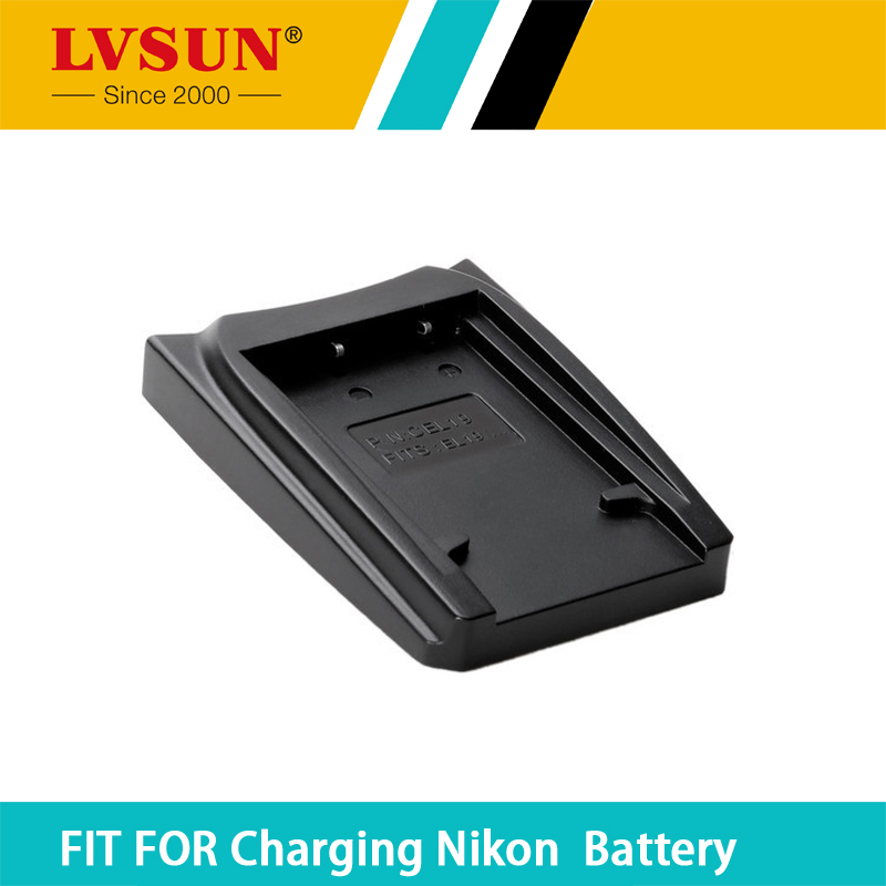 LVSUN EN-EL19 ENEL19 Rechargeable Battery Adapter Plate Case for Nikon S32 S33 S100 S2500 S2750 S3100 s2800 Batteries Charger