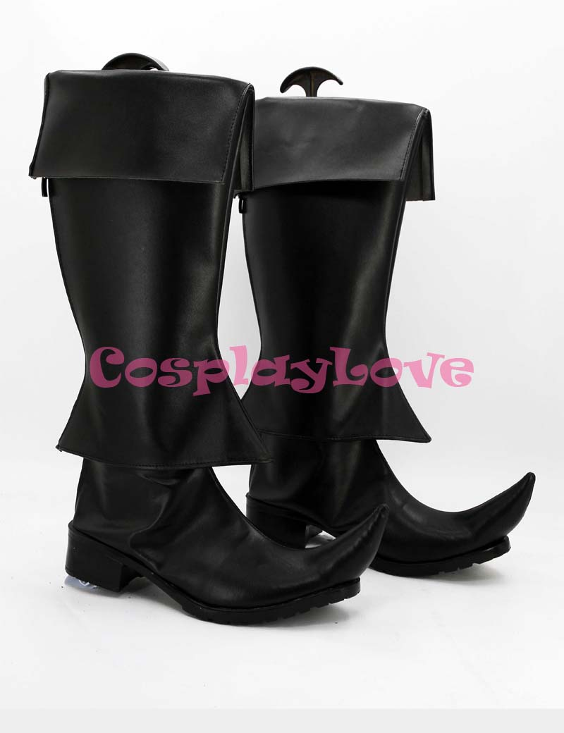 Magi Hakuryuu Cosplay Shoes Boots Red Custom Made For Halloween Christmas Festival CosplayLove