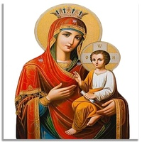 Orthodox Icon Christian Religi Oil Painting By Numbers No Frame Canvas DIY Coloring Wall Arts Pictures