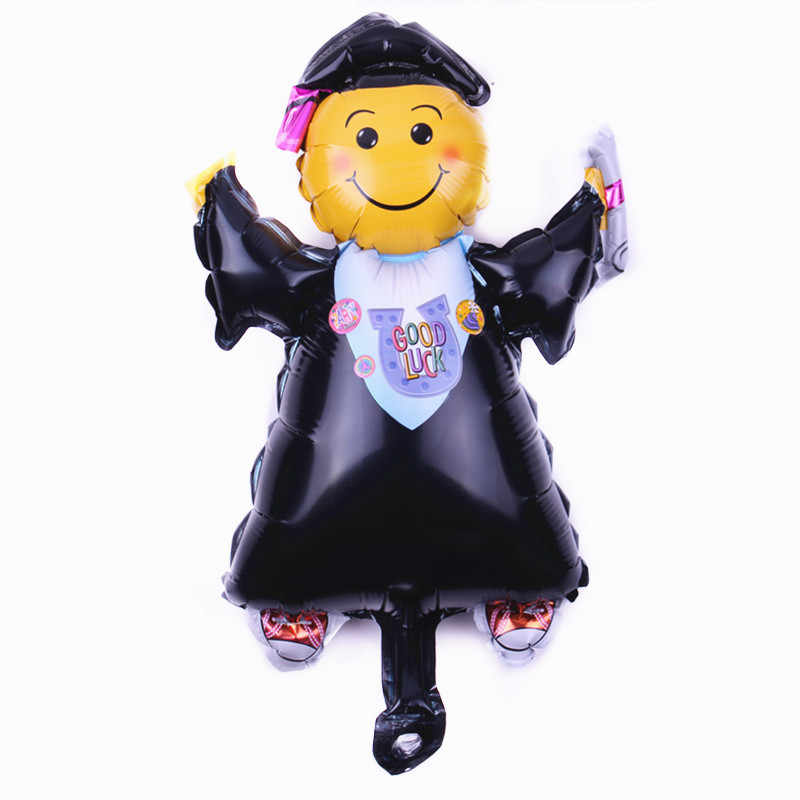 XXPWJใหม่ที่มีคุณภาพสูงขนาดเล็กยิ้มหมอดร.อลูมิเนียมของเล่นเด็กบอลลูนปาร์ตี้วันเกิดบอลลูนตกแต่งB-067