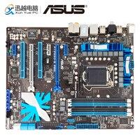 Asus P7P55D E Pro Desktop Motherboard P55 LGA 1156 Support X3440 DDR3 16G SATA3 USB3.0 ATX