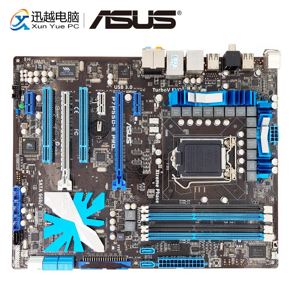 Asus P7P55D-E Pro Desktop-Motherboard P55 LGA 1156 Unterstützung X3440 DDR3 16g SATA3 USB3.0 ATX