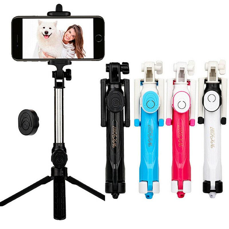 3 In 1 Extendable Monopod Tripod Wireless Bluetooth Remote Shutter Selfie Stick For Iphone Huawei Samsung Xiaomi