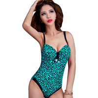 Foclassy New Brand Sexy Women Fashion One Piece Swimsuit Ladies Push Up Plus Size Swimwear High