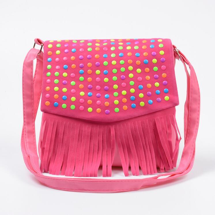 Fashion S Handbag Children Tassel Bag Small Shoulder Kids Messenger Bags Mini Coin Purses Toddler Wallet Hot In Top Handle From