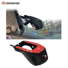 Sale TOPSOURCE HD 1080P DVRS Novatek Wide Angle Mini WIFI Car DVR Auto Dash Camera Video Registrator Recorder Camcorder Black Box