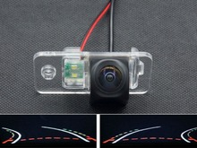 Trajectory Tracks 1080P Fisheye Lens Car Parking Rear view Camera for Audi A8 1997-2014 A6 2000-2014 A4