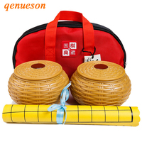 Hot Portable Cloth Bags Weiqi Go Chess Pieces Suede Leather Chess Board 19 Line International Standard On Go Game Chess qenueson