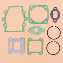 цена на Engine Motor Gasket 40mm Piston Ring Kit For Subaru ROBIN NB411 FL411 NF411 NB351 Brush Cutter 1E40F-6 Trimmer Weedeater Motor