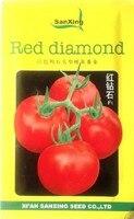 الفواكه و الخضروات بذور بذور الطماطم الحمراء الماس f1 إسرائيل نوع الصخور الصلبة لون الفاكهة بذور الطماطم 2 جرام حزمة