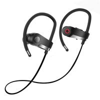ZAPET C6 Neckhang Bluetooth Headphones Bass Waterproof IPX7 Wireless Earphone Headset Bluetooth4 1 Earpiece Sport Earbuds