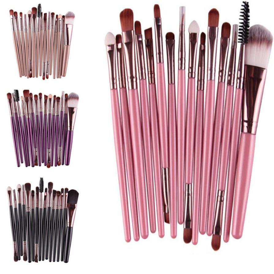 7pcs Eye Shadow Foundation Eyebrow L Ip Brush Makeup Brushes Tool Brochas Maquillaje Profesional Brush Set Professional New