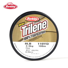 Berkley Trilene 100% Fluorocarbon 100M Fishing Line Professional Grade Excellent Manageability Invisible Carp Fishing Pesca Tool